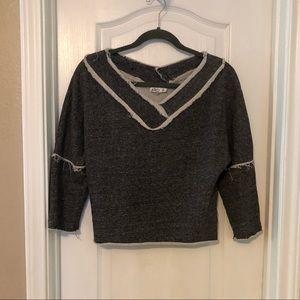 AIKO Cropped Sweatshirt
